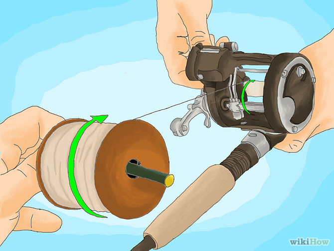 How to Spool a Baitcaster for Beginners 2